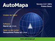 AutoMapa 5 POI Warnung Sprachausgabe Import