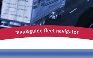 map&guide fleetnavigator POI Warnung Sprachausgabe Import